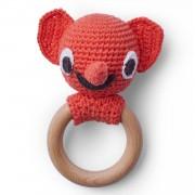 Littlephant-Littlephant Crochet Skallra, Röd