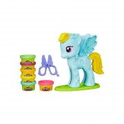 PLAY-DOH RAINBOW DASH PEINADOS DE COLORES HASBRO B0011