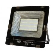 30W CREE LED-es reflektor fényvető hideg fehér SLIM Szabadtéri spotlámpa IP66