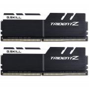 Memoria Ram DDR4 G.SKILL TRIDENT Z 3200MHz KIT 2x 8GB 1.35V C16 NEGRO / BLANCO F4-3200C16D-16GTZKW