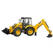 Bruder JCB 5CX Eco Backhoe Loader Toy Truck For Kids