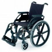 B-4200/P összecsukható önhajtós kerekesszék fix kerékkel, 43cm
