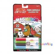 Melissa & Doug Kreatív játék Mágikus színező füzet
