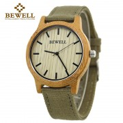BEWELL Bamboo Wood Watch Luxury Brand Analog Digital Quartz Watch Men Women Watch Dropshipping Ladies Watch Unique Clock Men 134