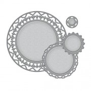 Spellbinders S4-354 Plantillas para Troquelado, diseño de círculos espléndidos