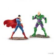 SCHLEICH Scenery Pack Superman Vs Lex Luthor Fig Figura