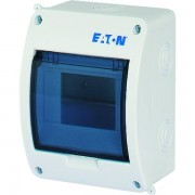 Tablou electric 1 rand 5 module, Eaton, capac transparent