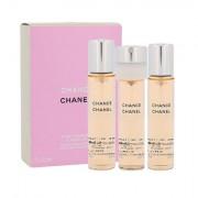 Chanel Chance eau de toilette ricarica 3x20 ml donna