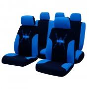 Üléshuzat univerzális 9db-os fekete-kék Tribal nonfiguratív 17075
