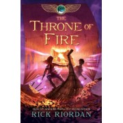 The Kane Chronicles, Book Two the Throne of Fire, Hardcover