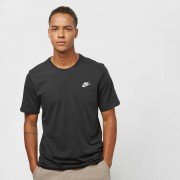 Nike Club Tee - Zwart - Size: Small; male