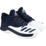 Adidas COURT FURY 2017 Basketball Shoes(Blue)
