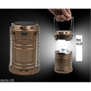 Solar Rechargeable Led Camping Lantern Lamp Light Emergency Lantern