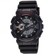 Casio G-Shock Analog-Digital Black Dial Mens Watch - GA-110-1ADR (G316)