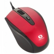 MOUSE SERIOUX PMO3300-RD USB PASTEL 3300 1000/1600DPI RED