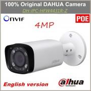 English POE Dahua IP Camera IPC-HFW4431R-Z Varifocal Motorized Lens IR distance 80m 4MP Camera Replacement for IPC-HFW4300R-Z