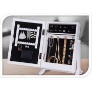 4goodz juwelenkastje met Spiegel en LED verlichting 27x35x42cm