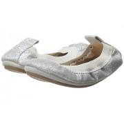 Reebok Sammie Super Soft Ballet Flat (ToddlerLittle KidBig Kid) Silver Glitter