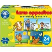 Puzzle Orchard Toys Farm Opposites
