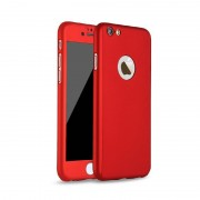 Husa Iphone 7 Full Cover 360, Rosu
