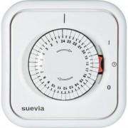 Suevia mechanikus napi időkapcsoló óra, falba sülyeszthető, 2200W, min. 30 perc, 348.002 (611809)