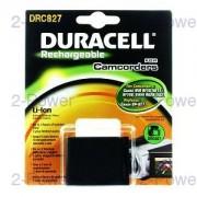 Duracell Videokamera Batteri Canon 7.4v 2550mAh (BP-827)