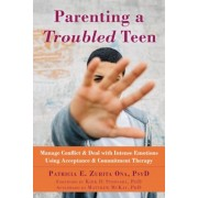 Parenting a Troubled Teen: Manage Conflict and Deal with Intense Emotions Using Acceptance and Commitment Therapy, Paperback