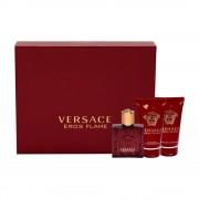 Gianni Versace Eros Flame 50ml Apă De Parfum + 50ml Gel de duș +50ml After Shave Balsam I Set
