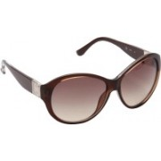 Michael Kors Round Sunglasses(Brown)