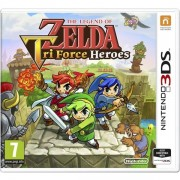 The Legend Of Zelda Triforce Heroes 3DS Game