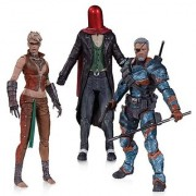 DC Collectibles Batman: Arkham Origins: Copperhead The Joker as Red Hood and Deathstroke Unmasked Action Figure (3-Pack)