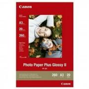 Canon Photo Paper Plus Glossy II PP-201 29.7x42cm A3 20 listova foto papir za ispis fotografije Gloss 265gsm ISO92 0.27mm 20 sheets PP201A3 BS2311B020AA BS2311B020AA