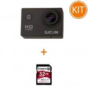 Kit SJCAM SJ4000 - Full HD, 1080p, 12MP + Kingston 32GB SDHC Canvas React