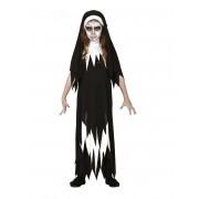 Deguisetoi Déguisement zombie nonne fille - Taille: 5 à 6 ans (110-115 cm)