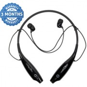 Premium Ecommerce HBS 730 Neckband Bluetooth Wireless In the Ear Headphones- Multicolor