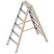 Layher Topic 1043 Stufenstehleiter 2x6 Stufen