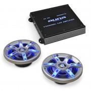 Electronic-Star Комплект hi-fi за кола BeatPilot FX-202, високоговорители, усилвател (PL-4929-5067)