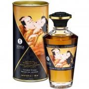Shunga aceite masaje efecto calor sabor caramelo 100 ml