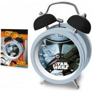 Star Wars mintás ébresztőóra