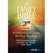 Daily Bible-NIV: In Chronological Order 365 Daily Readings with Devotional Insights to Guide You Through God's Word, Paperback