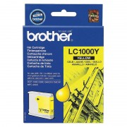 Brother Original Tintenpatrone LC1000Y, yellow