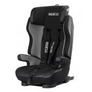 Sparco Silla para niños gris/negra Isofix reclinable Grupo 1/2/3 - 9-36 kg SPARCO