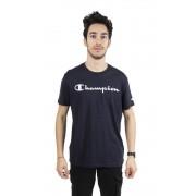Champion T-Shirt Uomo American Classic Logo, Taglia: M, Per adulto Uomo, Blu, 214142-BS501