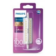 Philips Lighting LED žárovka 230 V, R7s, 14 W = 100 W, 118 mm, teplá bílá, A+ (A++ E) stmívatelná