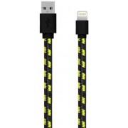 Cablu de date Serioux SRXA-MFI1MFAB-BLA, Lightning - USB, 1m (Negru)