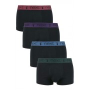 Next Hipsters Four Pack - Black - Mens