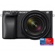 Pachet Sony Kit Aparat Foto Mirrorless Alpha A6400 24.2 MP cu Obiectiv 18 135mm Manfrotto GPM