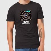 2001: A Space Odyssey Scanner Men's T-Shirt - Black - XL - Zwart