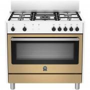 La Germania Ris95c71cwl Cucina 90x60 5 Fuochi A Gas Forno A Gas Ventilato Con Gr