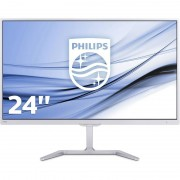 Monitor LED Philips E-line 246E7QDSW/00 23.6 inch 5ms White
